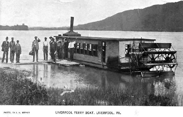 Liverpool ferry boat