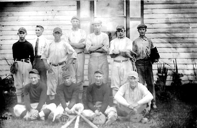 Liverpool baseball team 1922