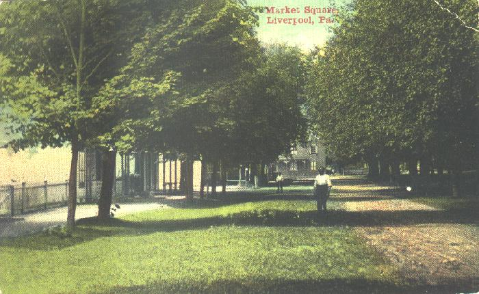 Market Square in 1911
